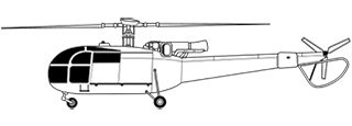 Sud Aviation SA.316 Alouette III.jpg non disponibile