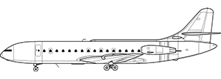 Sud Aviation SE.210 Caravelle.jpg non disponibile